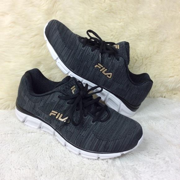 Fila Black & Gold Women's Shoes Size 9 M NWT